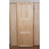 Дверь для бани (массив липы)