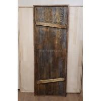 Дверь для бани (массив липы мореный)