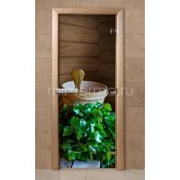 Дверь для бани f203 (стекло)