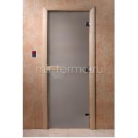 Дверь для бани Сатин 8мм  (стекло)