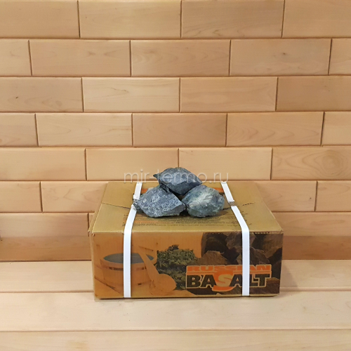Камень для парной Вулканический базальт