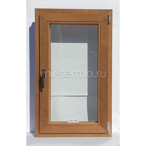 Евро Окно Thermo Wood 100×60см