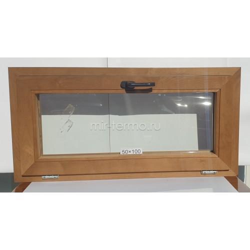 Евро Окно Thermo Wood 50×100см