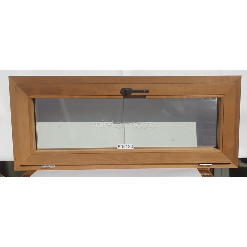 Евро Окно Thermo Wood 50×120см
