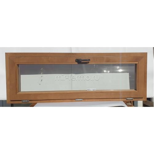 Евро Окно Thermo Wood 50×140см