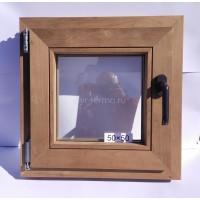 Евро Окно Thermo Wood 50×50см