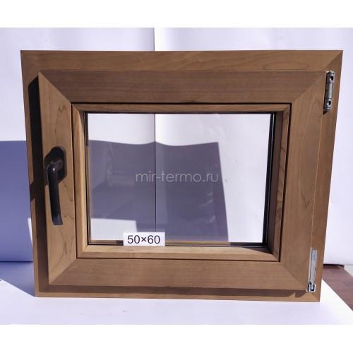 Евро Окно Thermo Wood 50×60см