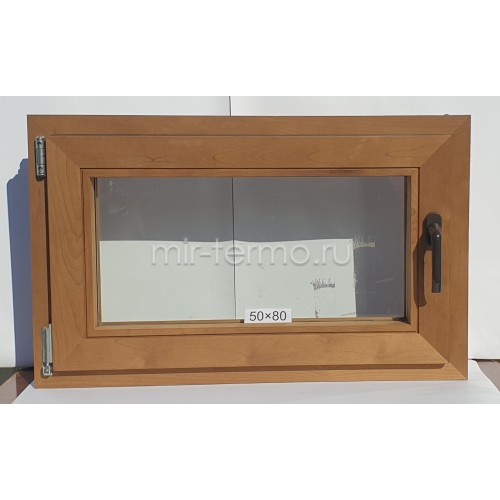 Евро Окно Thermo Wood 50×80см