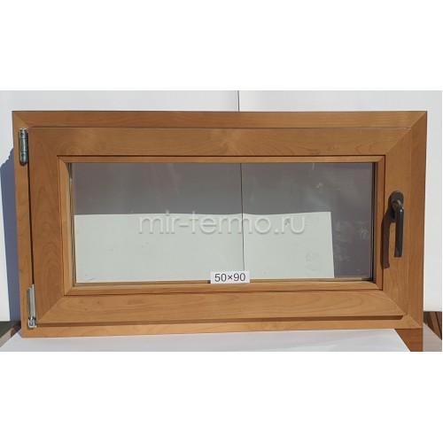 Евро Окно Thermo Wood 50×90см