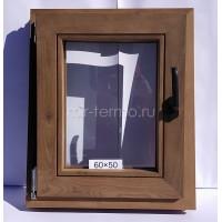 Евро Окно Thermo Wood 60×50см