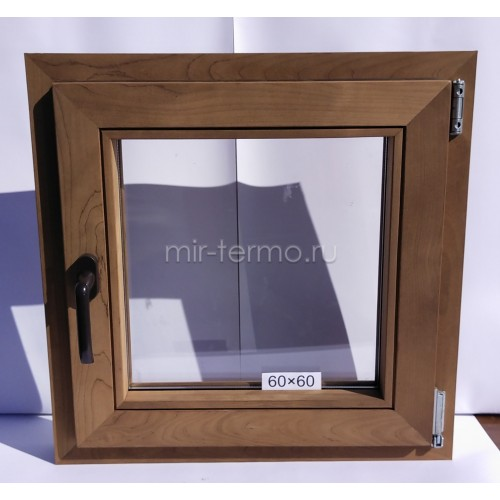 Евро Окно Thermo Wood 60×60см