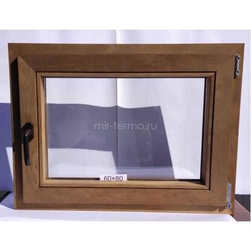 Евро Окно Thermo Wood 60×80см