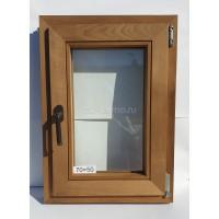 Евро Окно Thermo Wood 70×50см