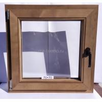 Евро Окно Thermo Wood 70×70см