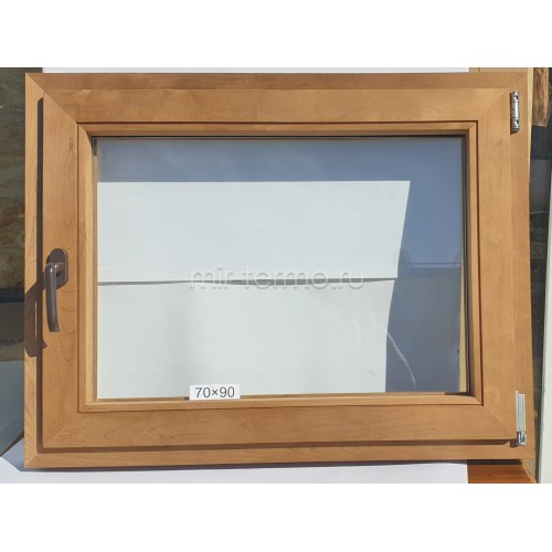 Евро Окно Thermo Wood 70×90см