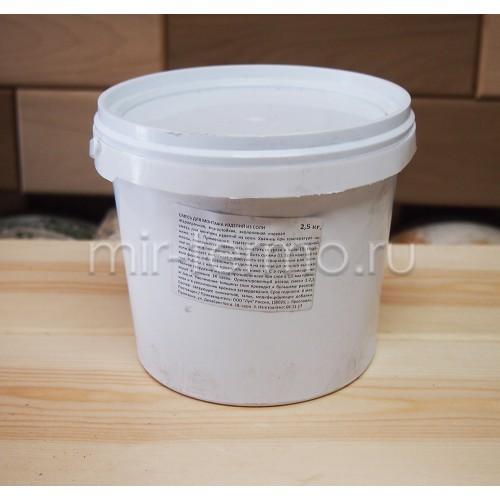 Смесь для монтажа изделий из соли