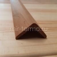 Уголок ТермоЛипа/Ольха 35*35мм